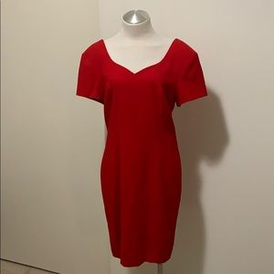 Vintage 1990s Red Nordstrom Dress